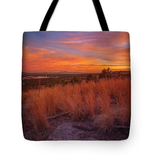 New Mexican Sunset Tote Bag