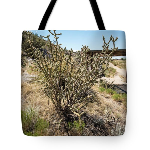 New Mexico Cholla Tote Bag
