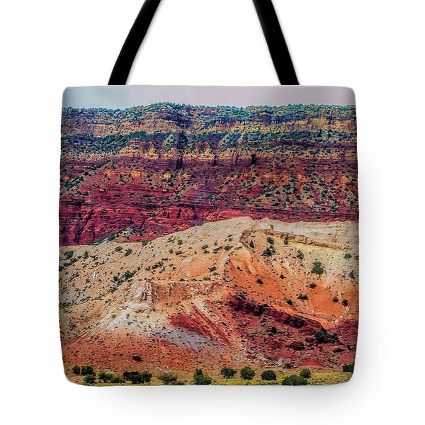 New Mexico Hillside Tote Bag by Gina Savage
