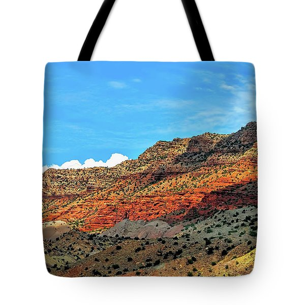 New Mexico Landscape Tote Bag by Gina Savage