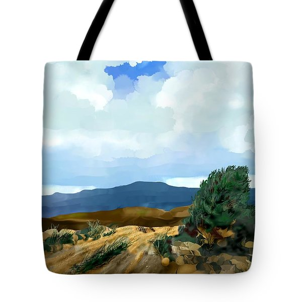 New Mexico Morning I Tote Bag by Kerry Beverly