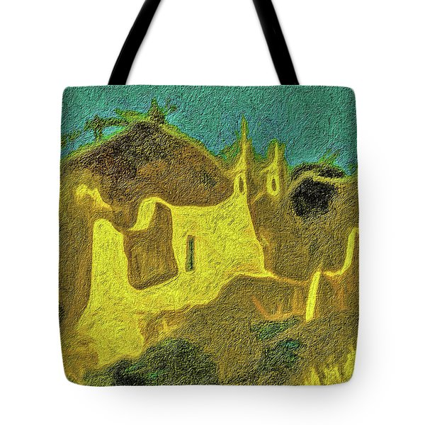 New Mexico Skyline Tote Bag