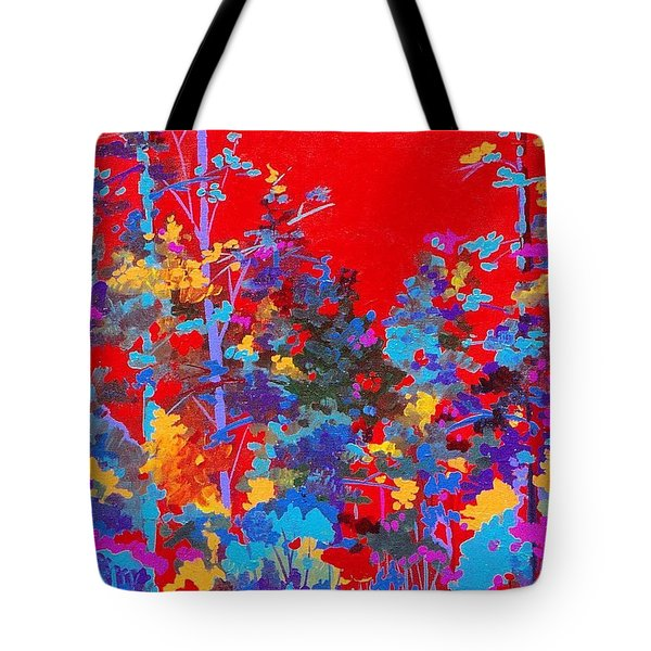 New Mexico Woods Tote Bag