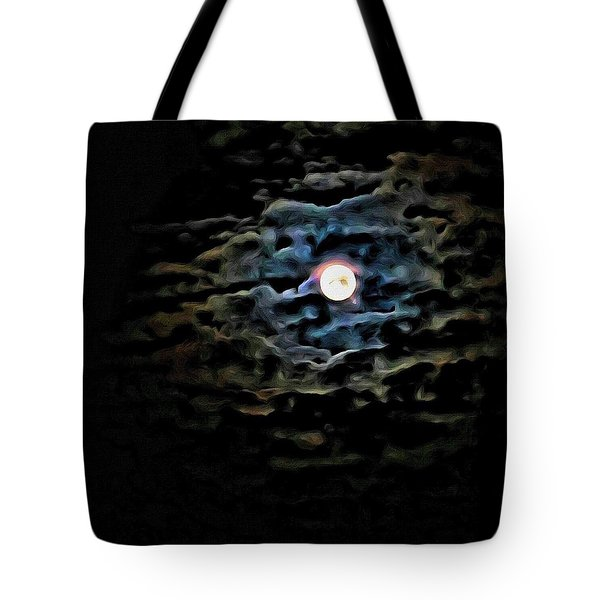 Tote Bag featuring the photograph New Moon by Al Harden
