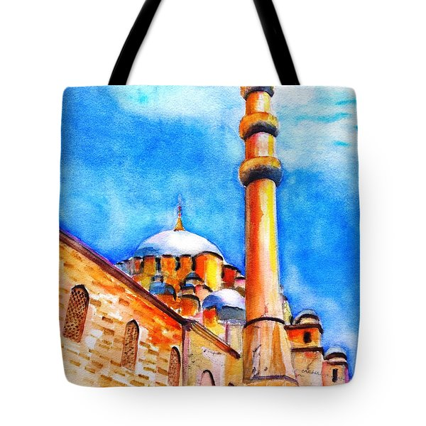 New Mosque Istanbul Tote Bag