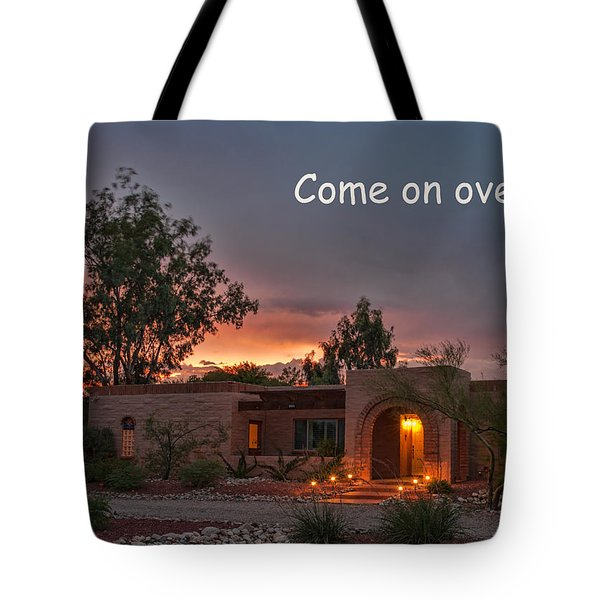 Tote Bag featuring the photograph New Neighbors Card by Dan McManus