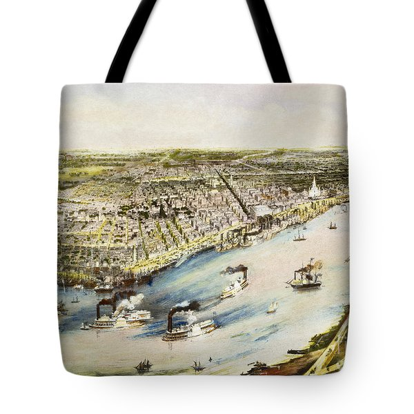 New Orleans, 1851 Tote Bag by Granger