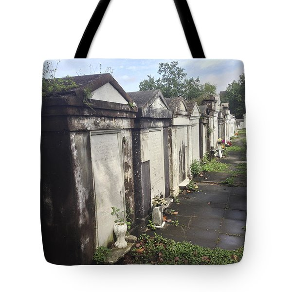 New Orleans Cemetery Tote Bag