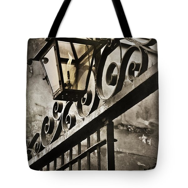 New Orleans Gaslight Tote Bag by Beth Riser