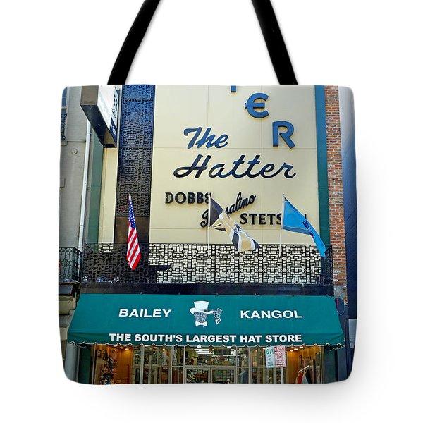 New Orleans Hatter Tote Bag