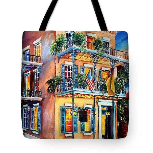 New Orleans' La Fitte's Guest House Tote Bag by Diane Millsap