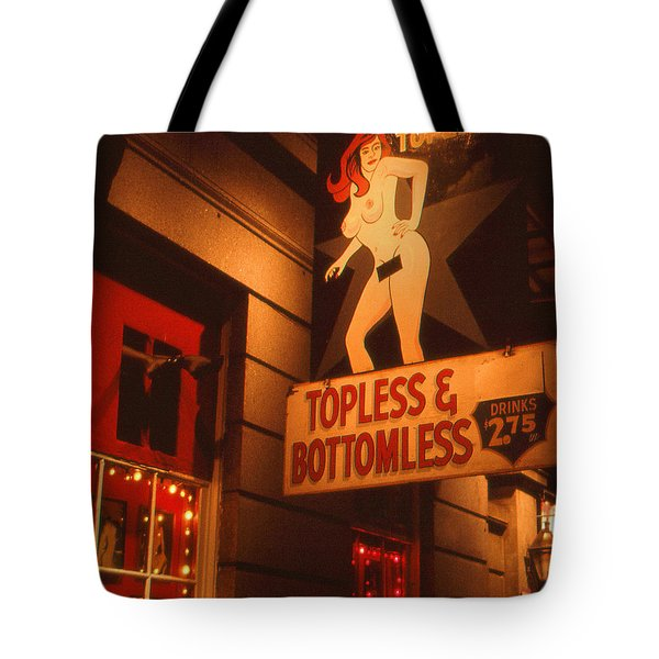 New Orleans Topless Bottomless Sexy Tote Bag