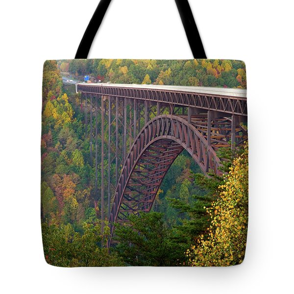 New River Gorge Bridge Tote Bag