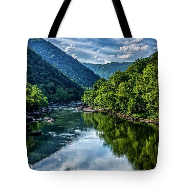 New River Gorge National River 3 Tote Bag