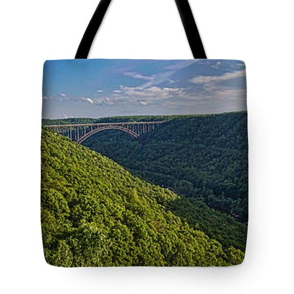 New River Panoramic Tote Bag