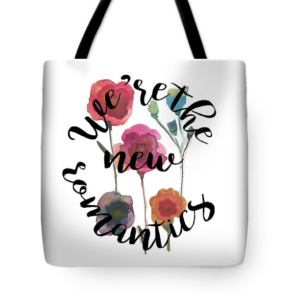 New Romantics Tote Bag by Patricia Abreu