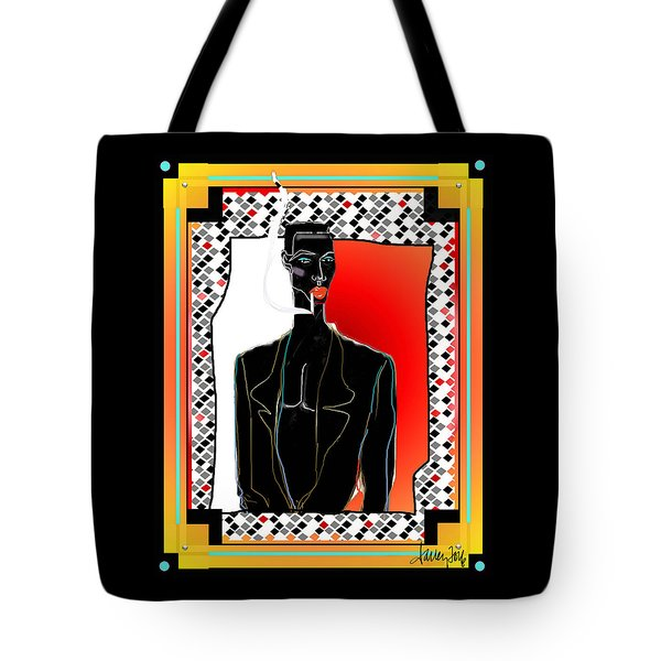 Amazing Grace Jones Tote Bag