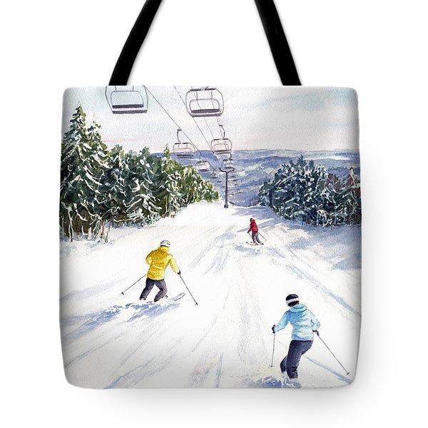 New Snow Tote Bag