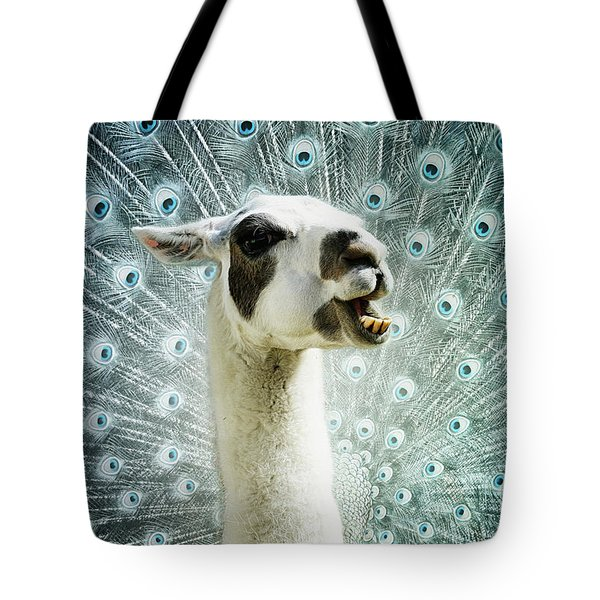 Tote Bag featuring the mixed media New Species by Jutta Maria Pusl