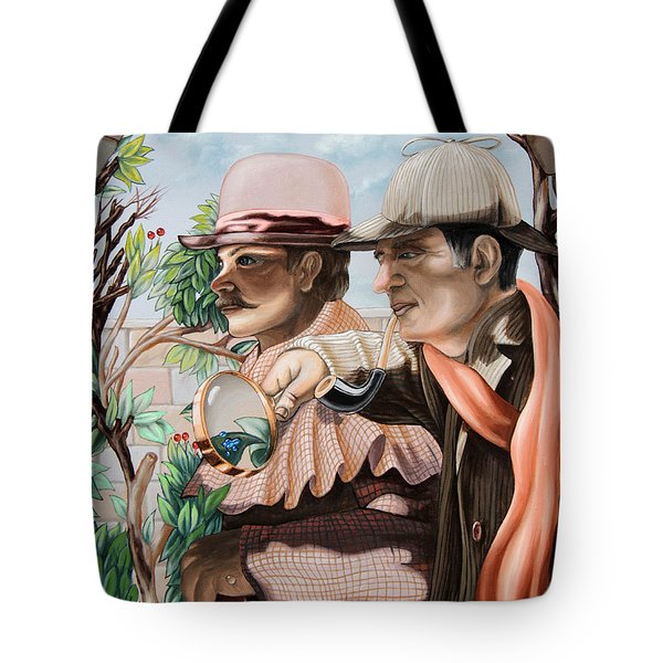 New Story By Sir Arthur Conan Doyle About Sherlock Holmes Tote Bag