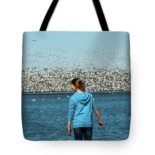 New Upload Tote Bag