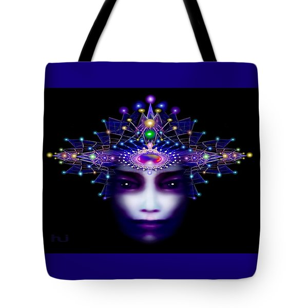 Celestial  Beauty Tote Bag