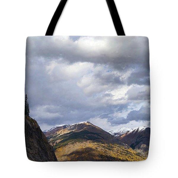 Peeking At The Peaks Tote Bag