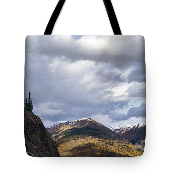 Peeking At The Peaks Tote Bag