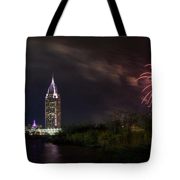 New Year Celebration 3 Tote Bag