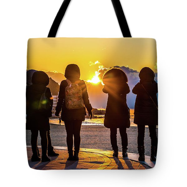 New Years Day, Korea Tote Bag