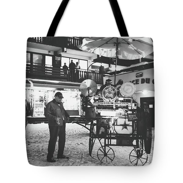 Tote Bag featuring the photograph New Years Eve- by JD Mims