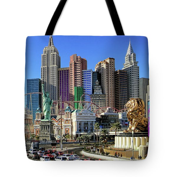New York , New York Tote Bag