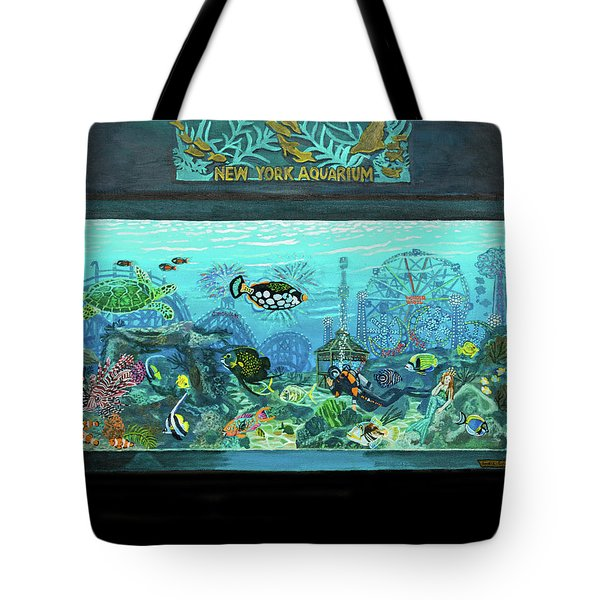 New York Aquarium Tote Bag