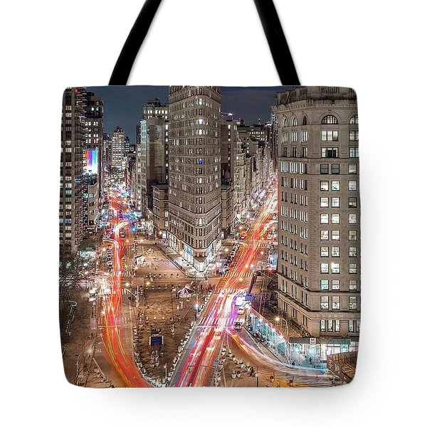New York Big City Rush Hour Tote Bag
