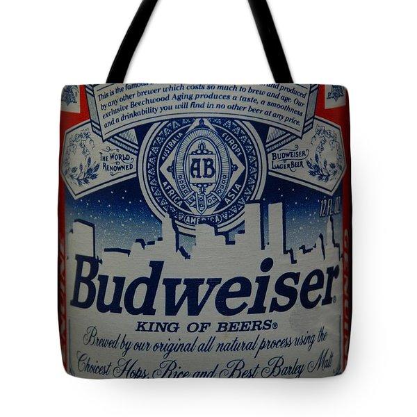 New York Bud Tote Bag by Rob Hans