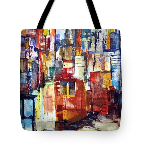 New York Cab Tote Bag