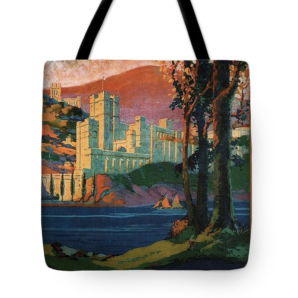 New York Central Lines - West Point - Retro Travel Poster - Vintage Poster Tote Bag
