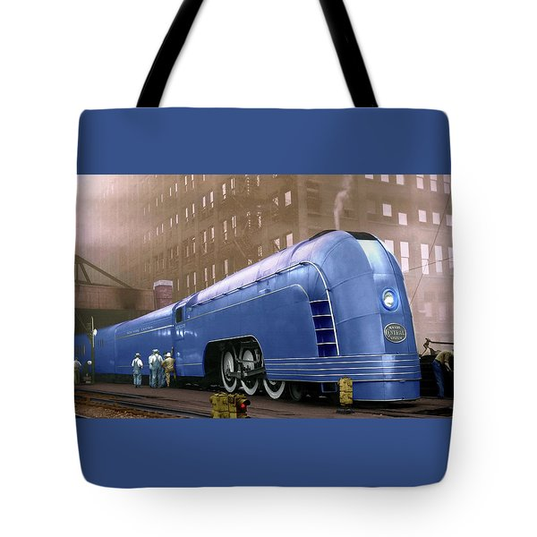 New York Central Tote Bag
