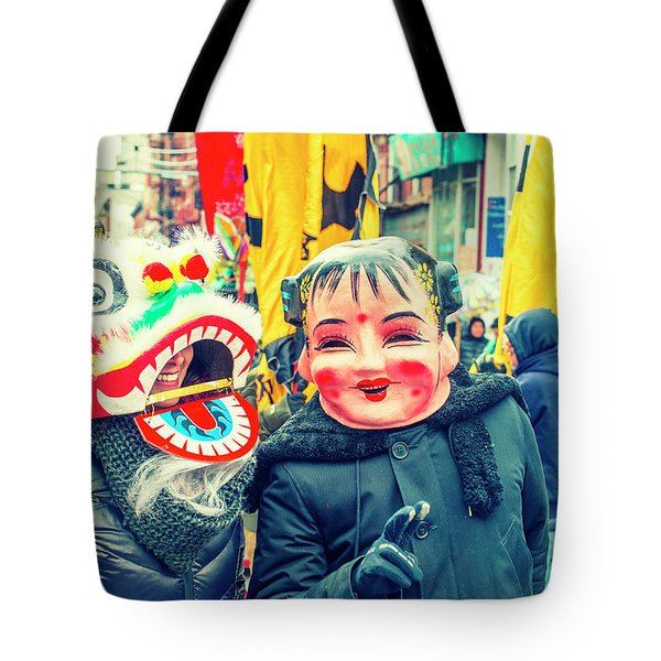 New York Chinatown Tote Bag
