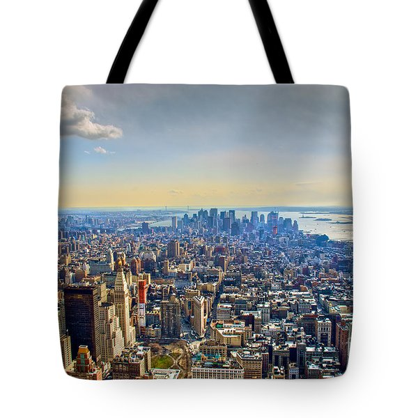 New York City - Manhattan Tote Bag