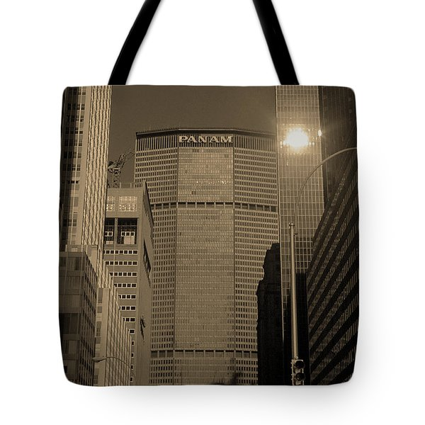 New York City 1982 Sepia Series - #7 Tote Bag