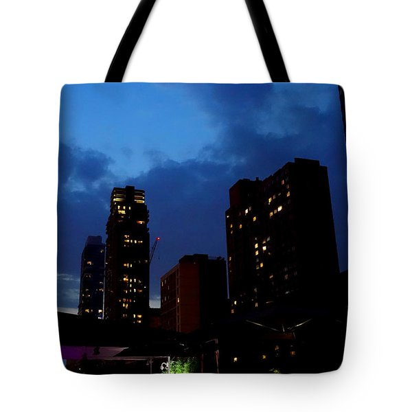 New York City Just Before Dark Tote Bag