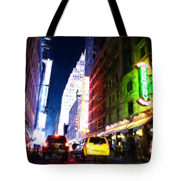 New York City Tote Bag by Matthew Ashton