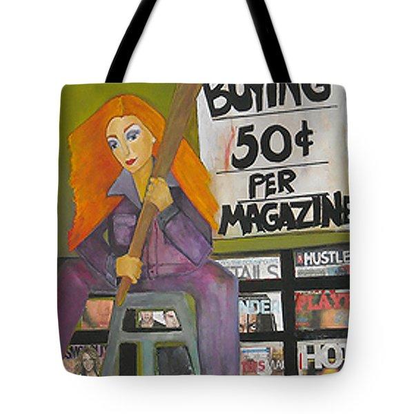 New York City News Stand Tote Bag