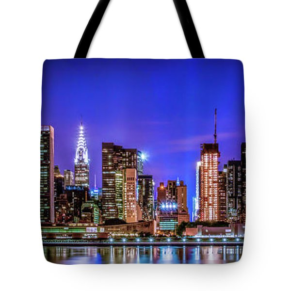 Tote Bag featuring the photograph New York City Shine by Theodore Jones