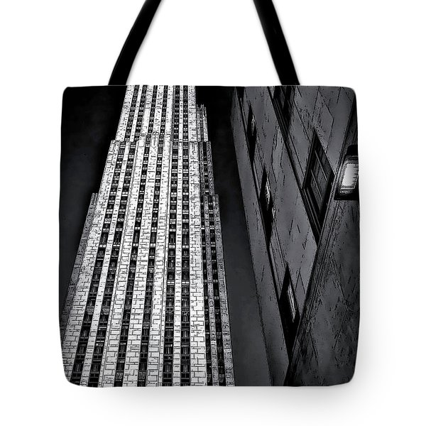 New York City Sights - Skyscraper Tote Bag