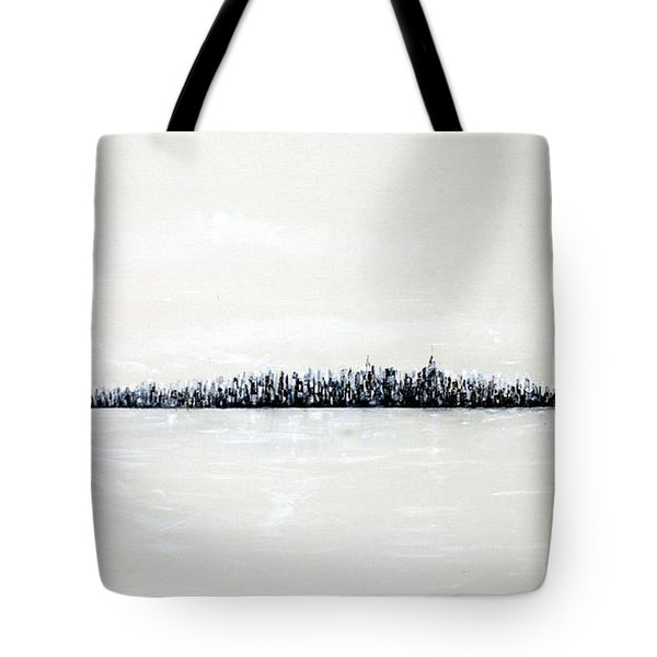 New York City Skyline 48 Tote Bag