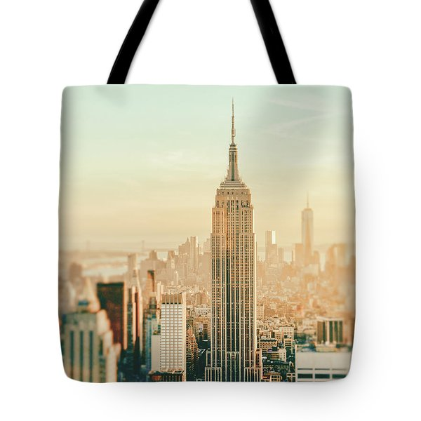New York City - Skyline Dream Tote Bag by Vivienne Gucwa