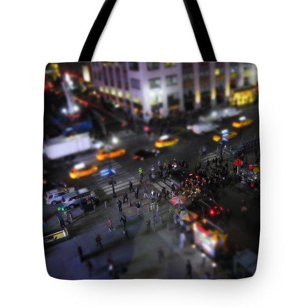 New York City Street Miniature Tote Bag