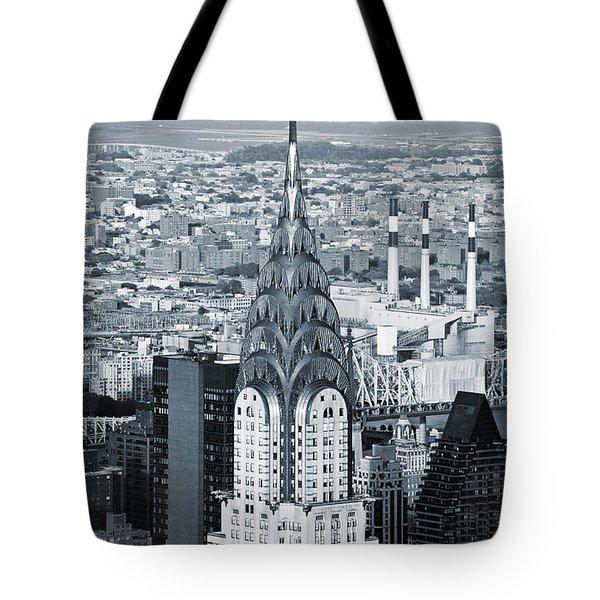 New York City - Usa - Chrysler Building Tote Bag